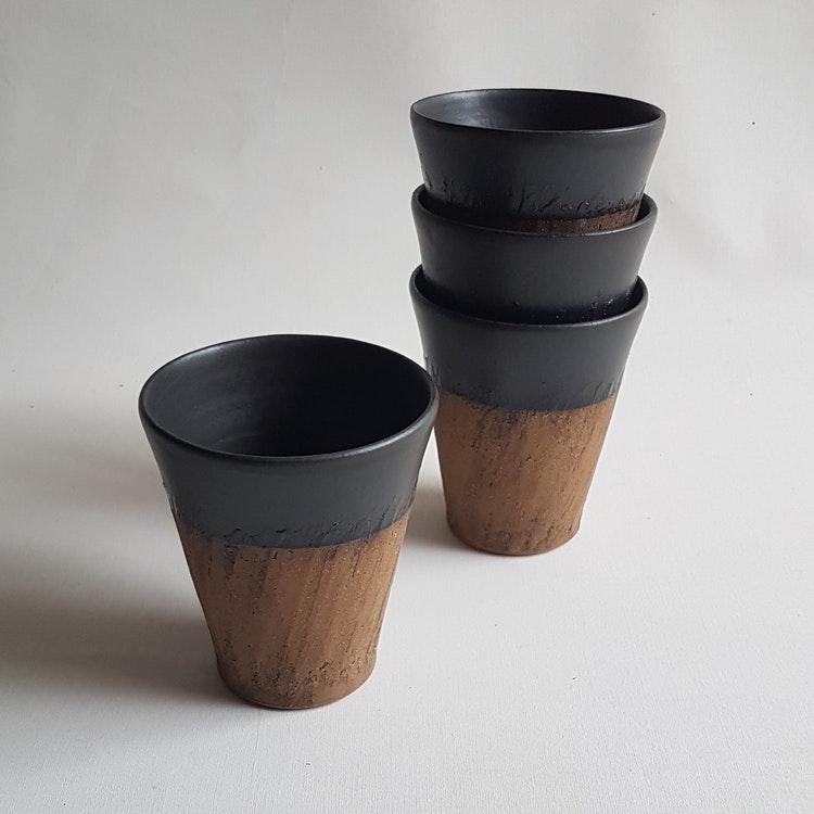 Kaffemugg i Serien Rustik & Svart