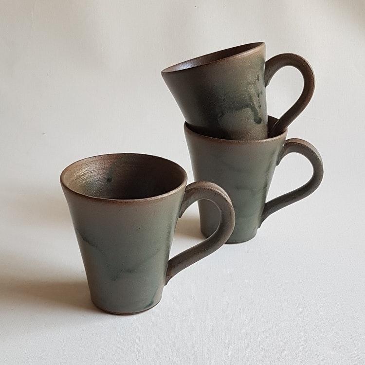 Kaffekopp i Serien Bosco / Grön