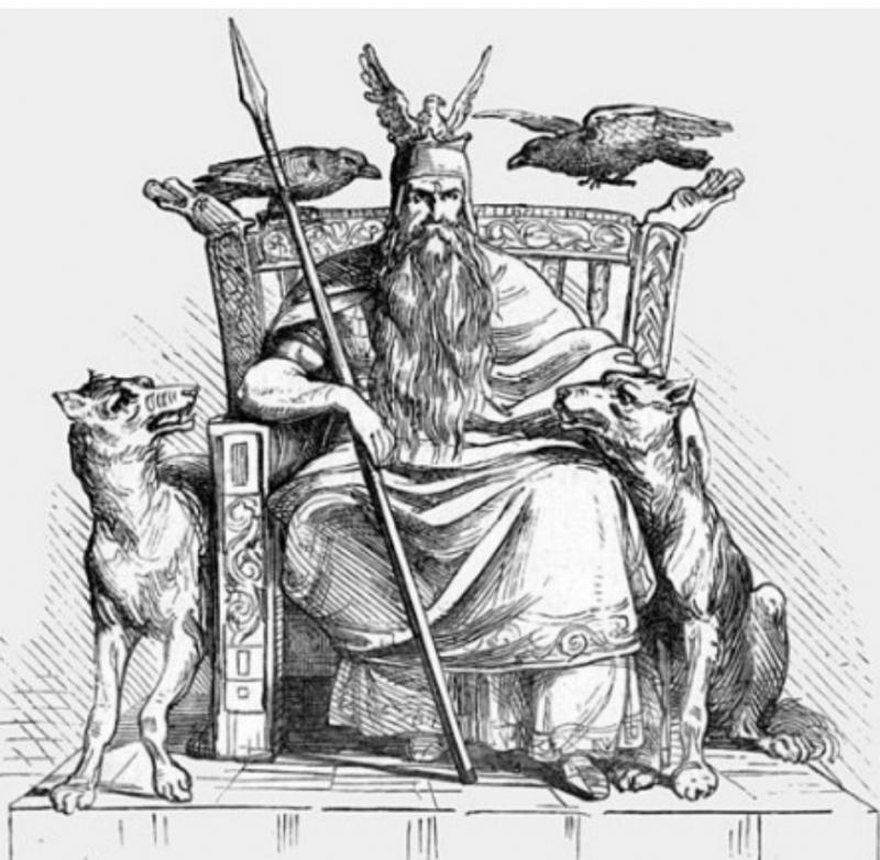 Gere, Freke och andra vargar i nordisk mytologi