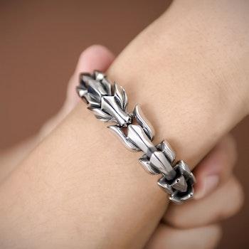 Armband Wolf-Viking Gold