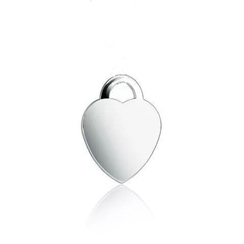 Love Hänge (17 mm) I 925 Sterling Silver