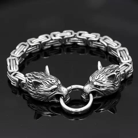 Paket Wolves Halsband och armband
