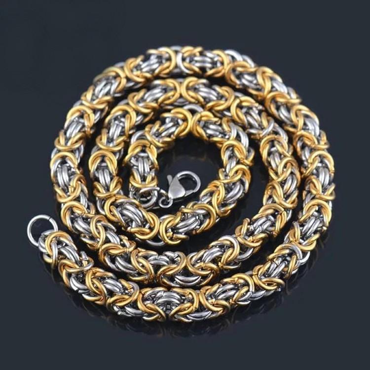 Halsband Golden Kungslänk