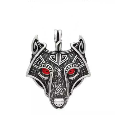 Halsband Wolf Freke (Fler ögonfärger)