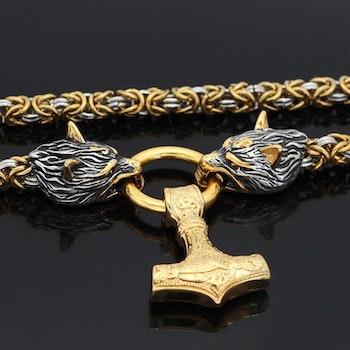 Kaulakoru Golden Valhalla Gold