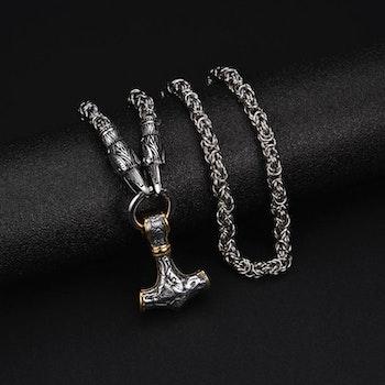 Kaulakoru Hugin Silver/Gold