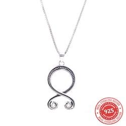 Paket Trollkors Halsband och Örhängen 925 Silver
