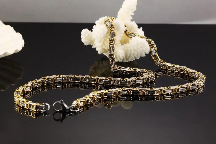 Halsband Golden Wolf