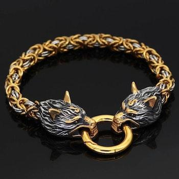 Paket Golden Valhalla Halsband och Armband