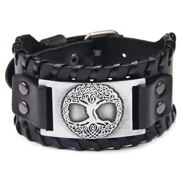 Paket Yggdrasil halsband och armband