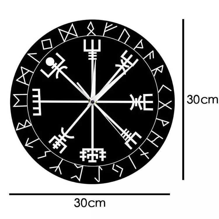 Klocka Vegvisir (Flera färger)