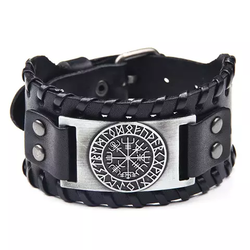 Paket Vegvisir Halsband + Armband + Örhänge Silver