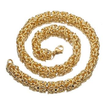 Pure Golden Kungslänk Kaulakoru