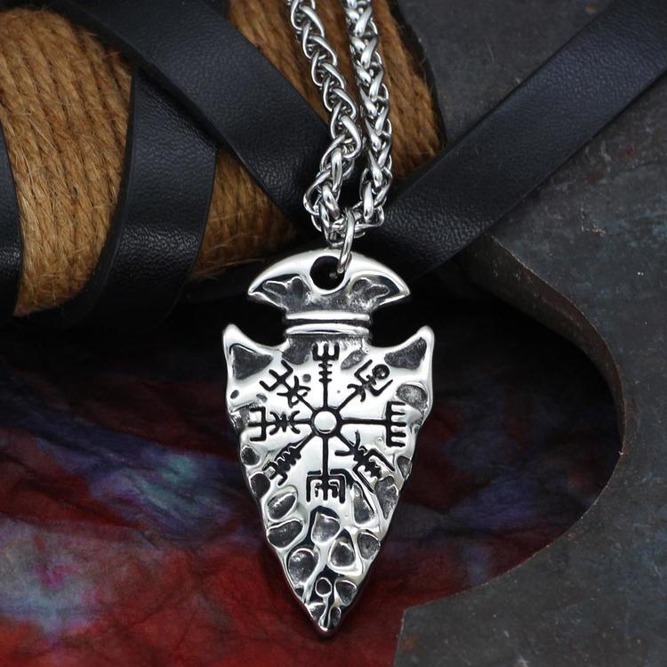 Halsband Arrow Vegvisir