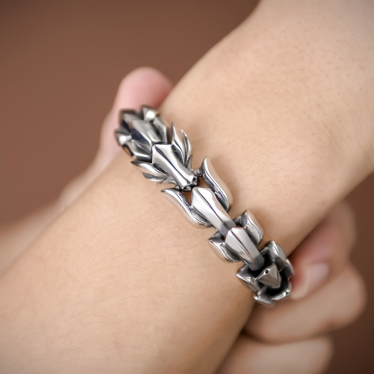 Armband Wolf-Viking Silver