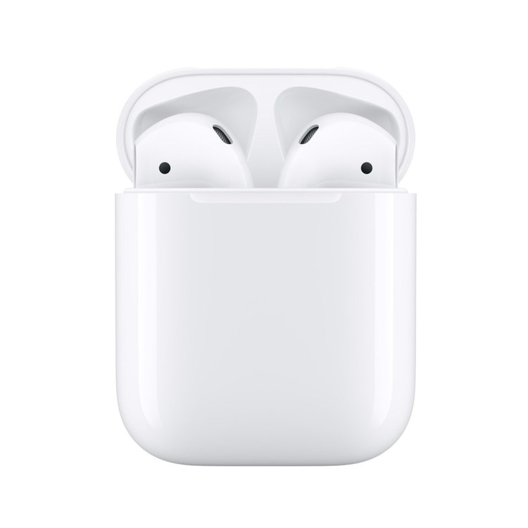 Apple AirPods med trådlöst laddningsetui