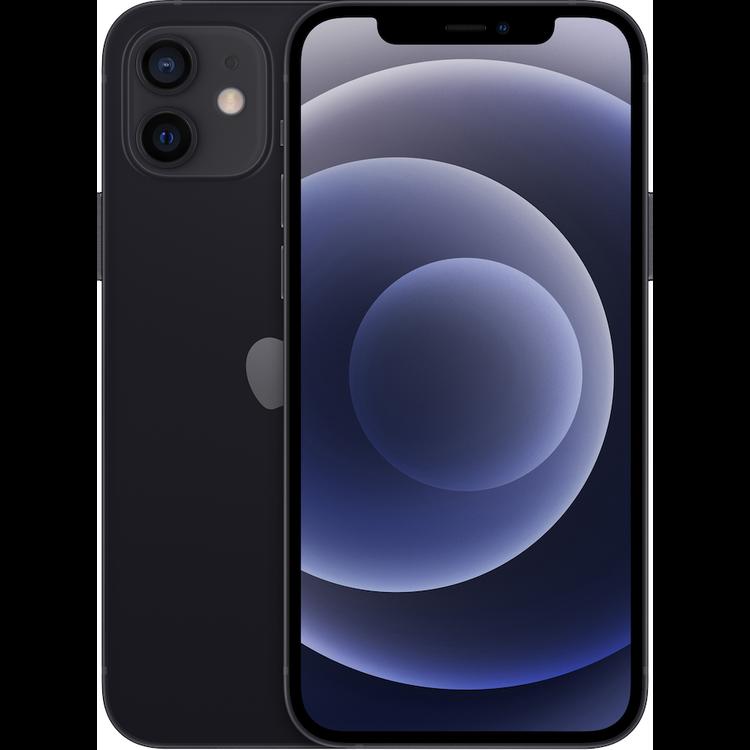 Apple iPhone 12 64GB - Svart