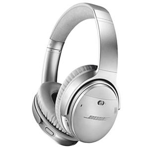 Bose QuietComfort 35 II - hörlurar med mikrofon, Silver