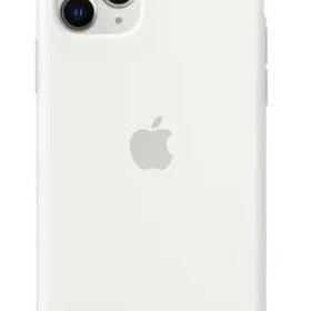 Apple iPhone 11 Pro Original Silikonskal - Vit