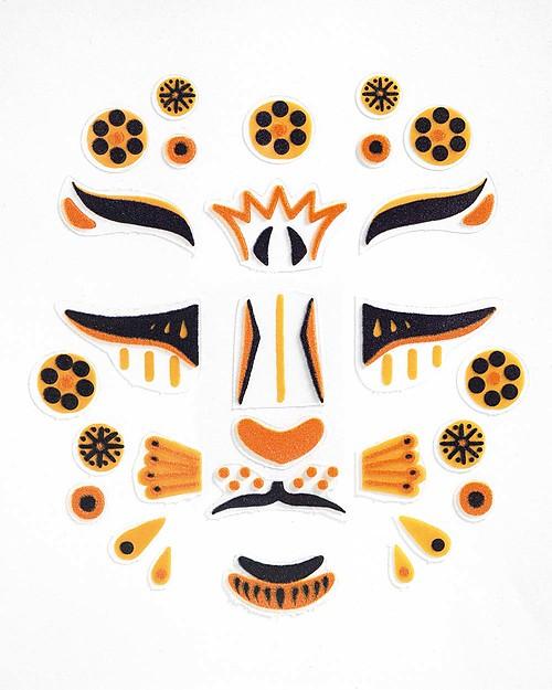 Face-stickers Leopard