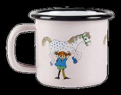 Muurla mugg - Pippi och Lilla Gubben