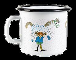 Muurla mugg - Pippi och Lilla Gubben (stor)