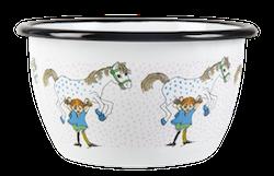 Muurla skål - Pippi och Lilla Gubben (stor)