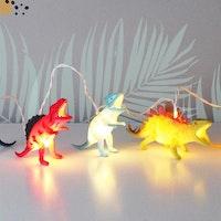 Lampslinga Dino färg