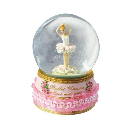 Speldosa Glob Ballerina