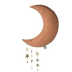 Måne med stjärnor
