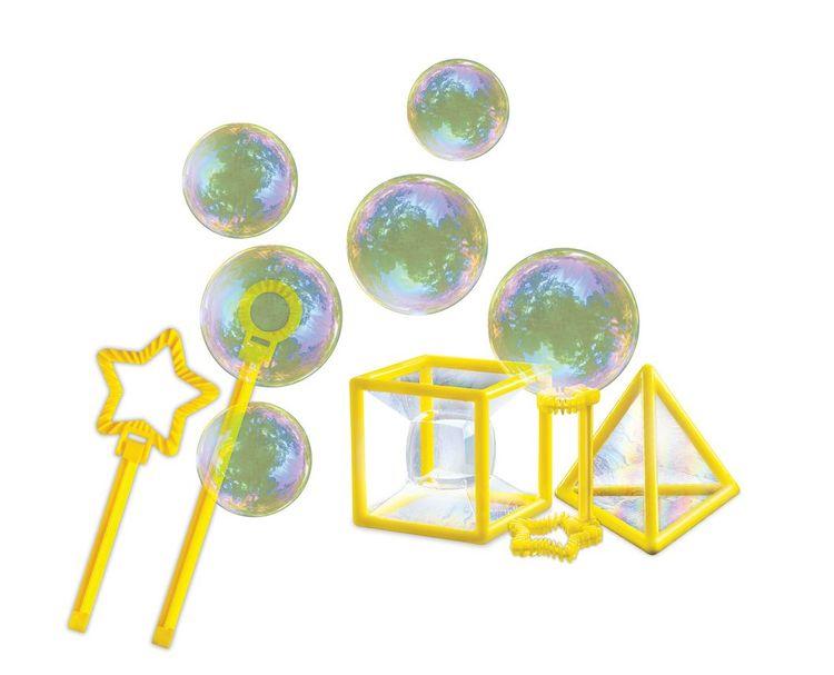 Exprimentera med såpbubblor