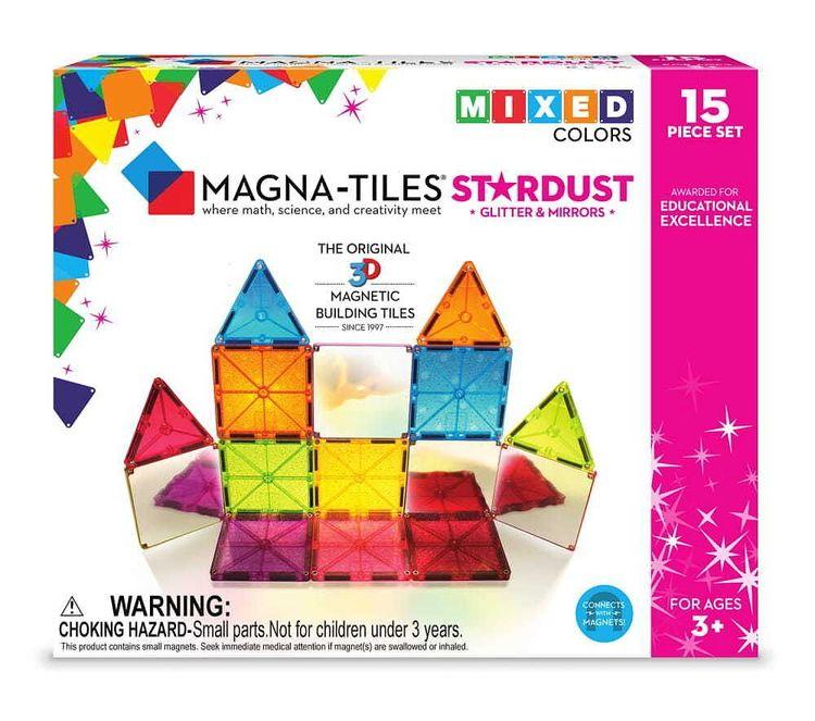 Magna-tiles, Stardust - 15 pcs
