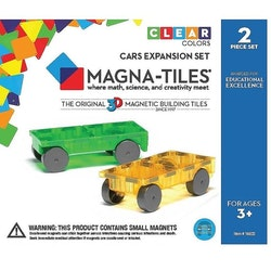 Magna-tiles , Cars 2-pcs expansion set