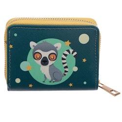 Liten Plånbok med Dragkedja, Lemur
