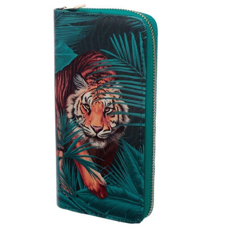 Plånbok Tiger Stor
