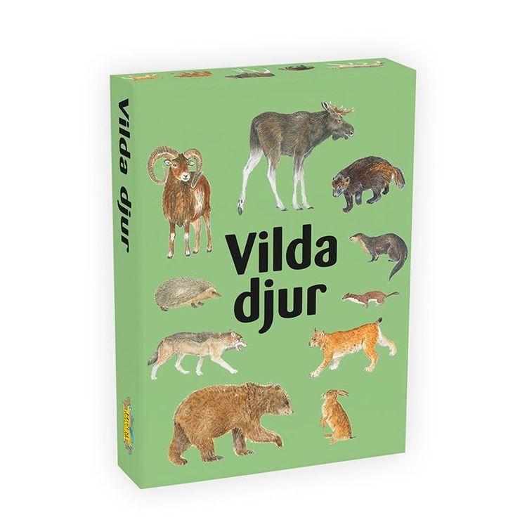 Vilda djur kortspel