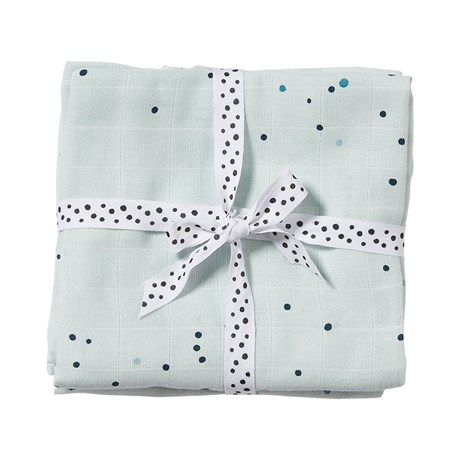 Swaddle, 2-pack Dreamy dots Blue