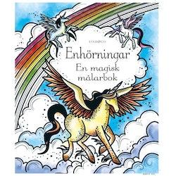 Magisk målarbok- enhörningar