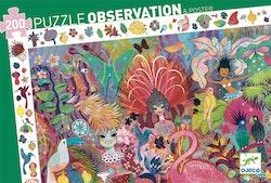 Observationspussel Rio 200 bitar