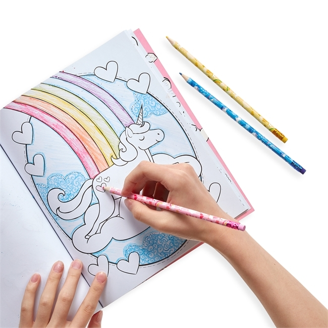 Suddbara färgpennor