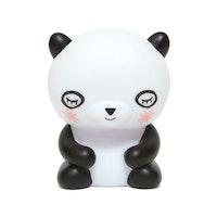 Liten LED-nattlampa panda