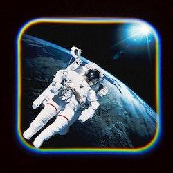 Projektorlampa rymd