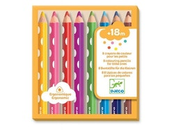 Färgpennor för de minsta