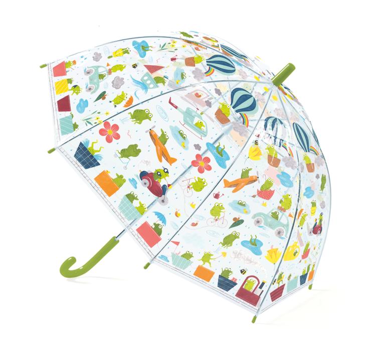 Paraply genomskinliga