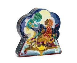 Siluettepussel Aladin 24-bitar