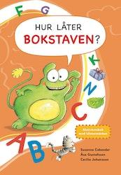 Hur låter bokstaven? – aktivitetsbok med klistermärken