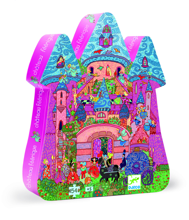 Siluettepuzzle, Fairy castle