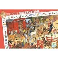 Observation puzzle 200 bitar, Horse riding