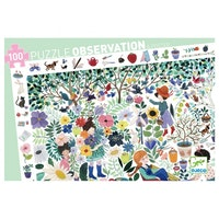 Observation puzzle 100 bitar, 1000 flowers