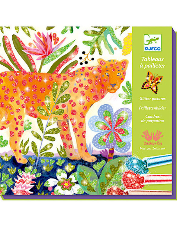 Glitterpyssel Tropico